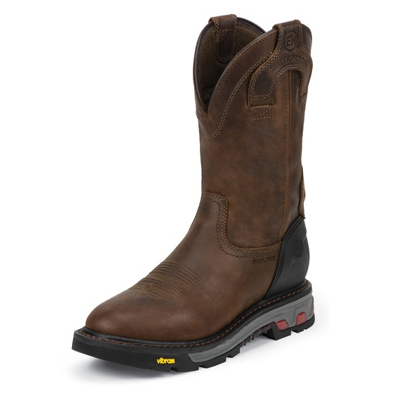 Image for MECHANIC BROWN WATERPROOF STEEL TOE boot; Style# WK2120