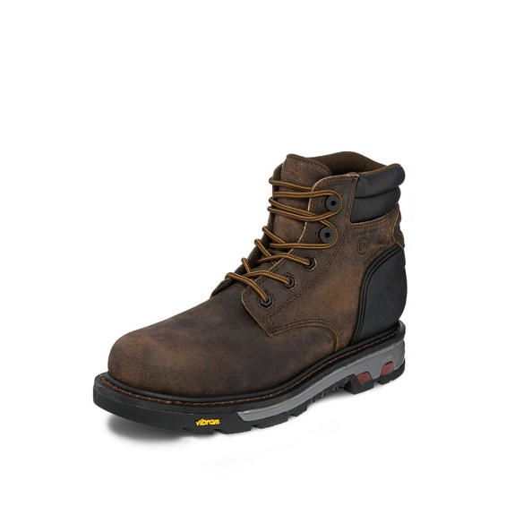 Image for LABORER BROWN WATERPROOF COMP TOE 6 boot; Style# WK212