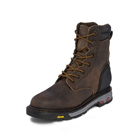 Image for LABORER BROWN INS WATERPROOF 8 boot; Style# WK216