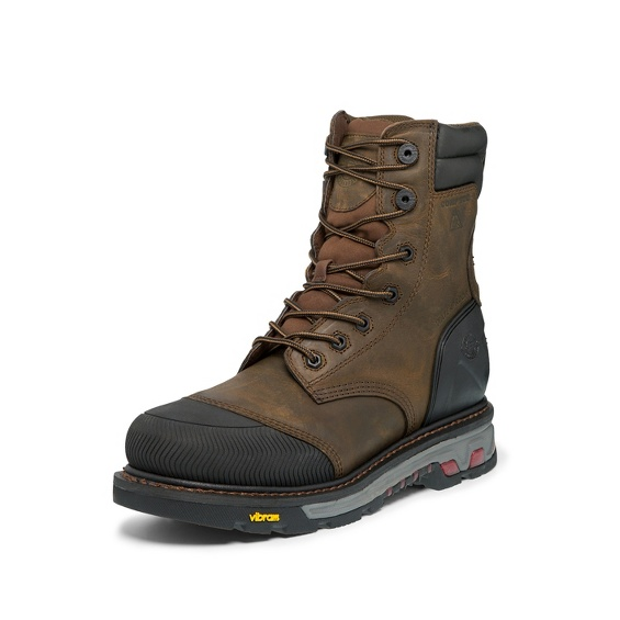 Image for WARHAWK TAN WATERPROOF COMP TOE 8 boot; Style# WK260