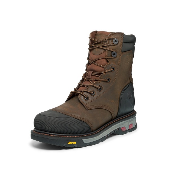 Justin Original Workboots Wk261 Warhawk Tan Ins