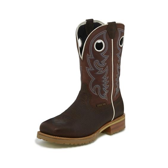 Image for MARSHAL BRICK RED WATERPROOF STEEL TOE boot; Style# WK4203