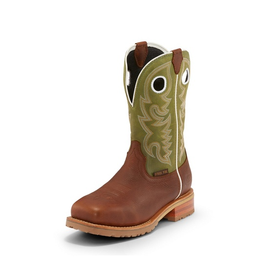 Image for MARSHAL AGAVE GREEN W/P STEEL TOE boot; Style# WK4204