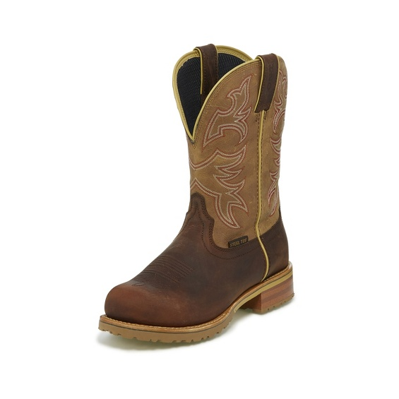 Image for HERDSMAN TUMBLEWEED TAN W/P STEEL TOE boot; Style# WK4206
