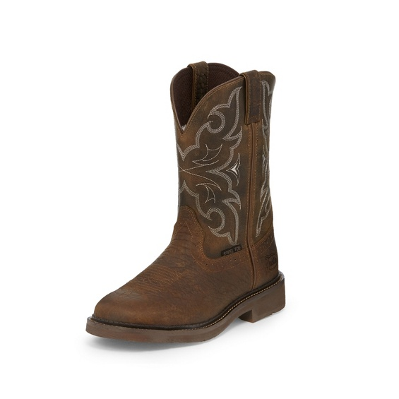 Image for AMARILLO CHOCOLATE STEEL TOE boot; Style# WK4311