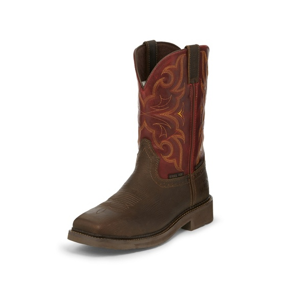 Image for AMARILLO OXBLOOD WATERPROOF STEEL TOE boot; Style# WK4317