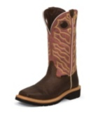 Image for NEGOTIATOR TAN STEEL TOE boot; Style# WK4565