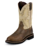 Image for SUPERINTENDENT CREME SOFT TOE boot; Style# WK4660
