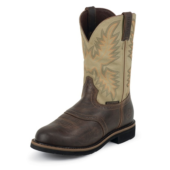 Image for SUPERINTENDENT CREME WATERPROOF boot; Style# WK4662