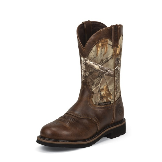 Image for TREKKER CAMO WATERPROOF WITH SADDLE VAMP boot; Style# WK4675