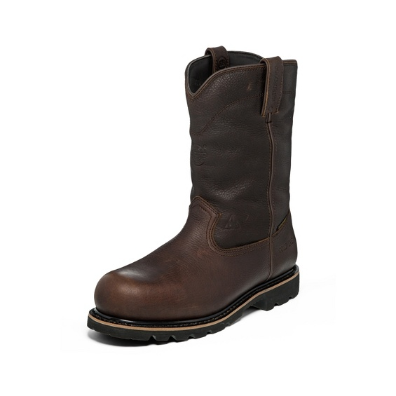 Image for MINER DARK BROWN COMP TOE boot; Style# WK4711