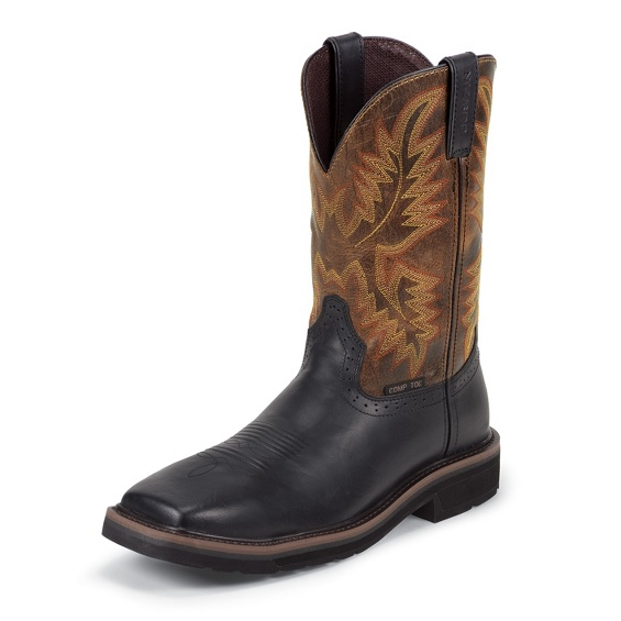 Image for DRILLER BLACK COMP TOE boot; Style# WK4818