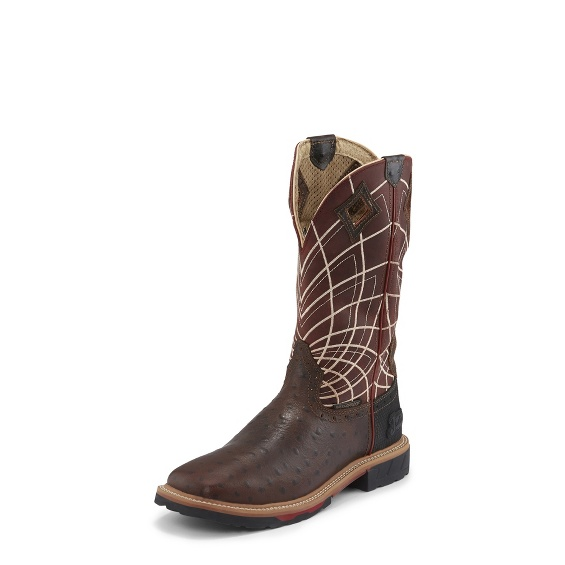 Image for DERRICKMAN OSTRICH PRINT boot; Style# WK4834