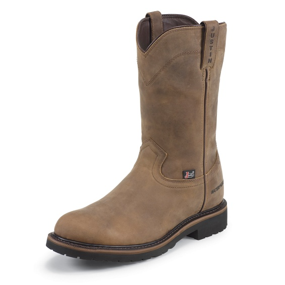 Justin Original Workboots Wk4961 Drywall Pullon