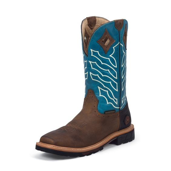 Image for DERRICKMAN BROWN WATERPROOF boot; Style# WK4973