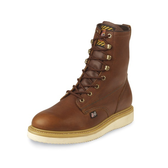 JUSTIN ORIGINAL WORKBOOTS #WK908 AXE TAN WEDGE