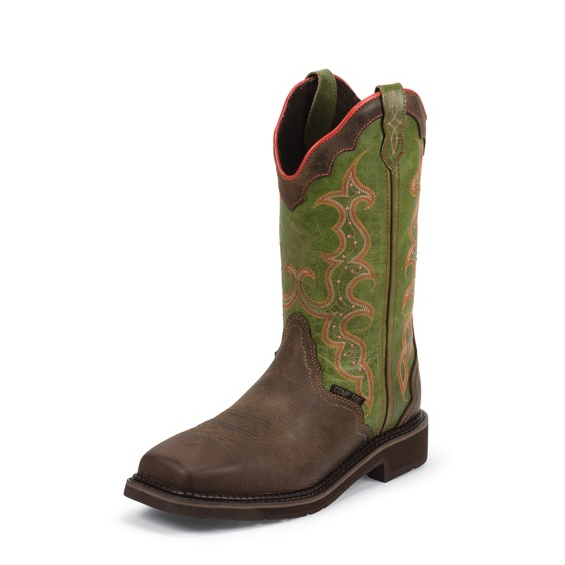 Image for WAXY BROWN COMPOSITION TOE boot; Style# WKL8002