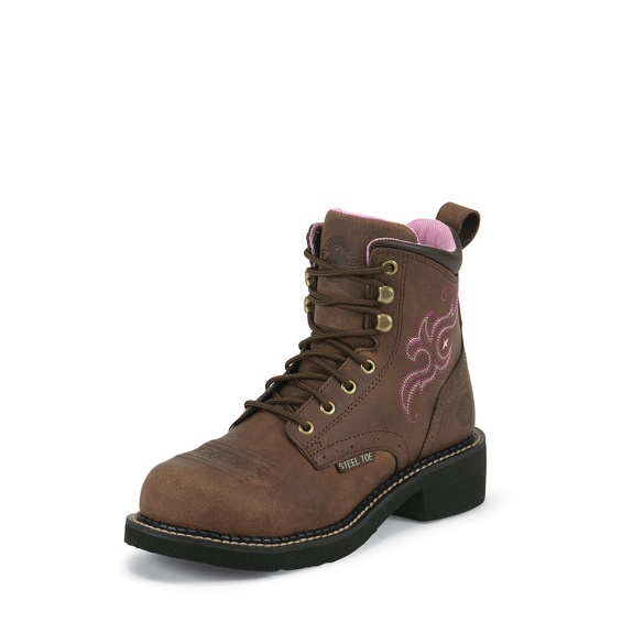 Justin Original Workboots Wkl991 Katerina Steel Toe