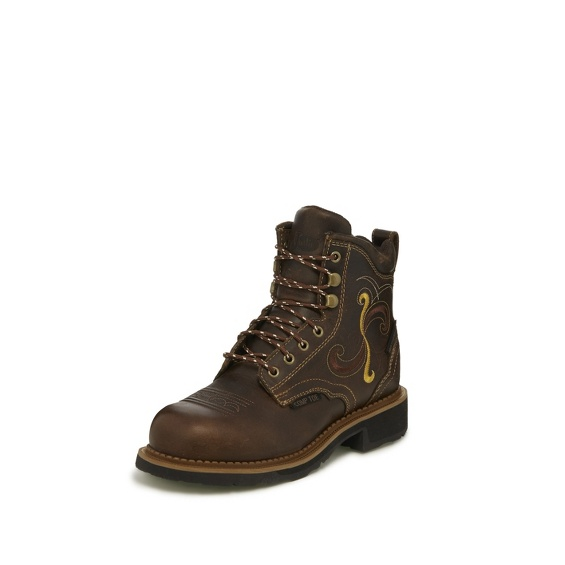 Image for DEANNE MAPLE TAN WATERPROOF COMP TOE boot; Style# WKL992