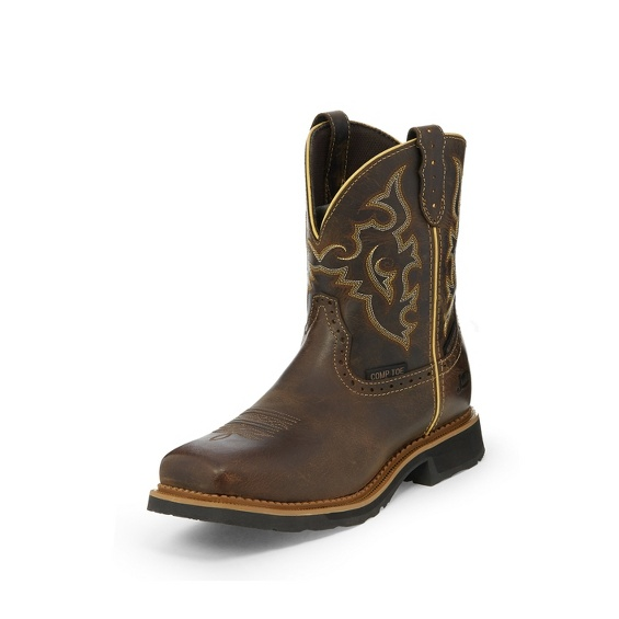 Image for JALENA MAPLE TAN WATERPROOF COMP TOE boot; Style# WKL9978