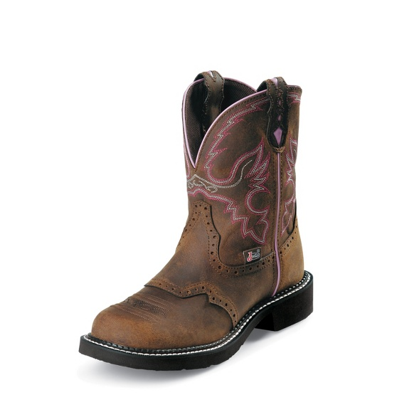 Justin Original Workboots Wkl9980 Wanette Brown Steel Toe