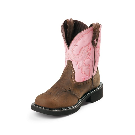 Image for WANETTE PINK STEEL TOE boot; Style# WKL9981