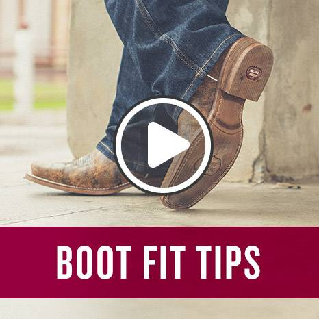 Boot fit