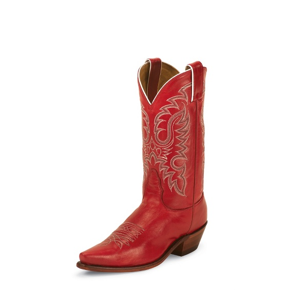 Image for RHINESTONE RED boot; Style# LD2736