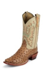 Image for BRONCO COGNAC FULL QUILL boot; Style# MD6512