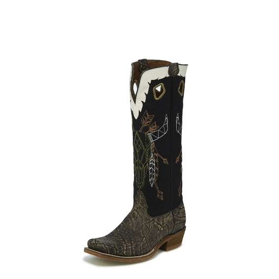 Image for PALESTINE ELEPHANT PRINT boot; Style# NB5523