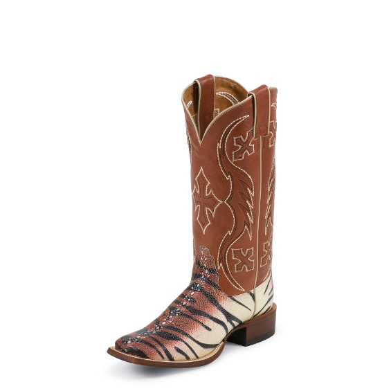 Image for BEIGE AND BLACK TIGER RAY boot; Style# NL6003
