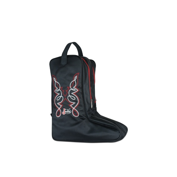 Image For Justin Boot Bag Black Style 1849547b