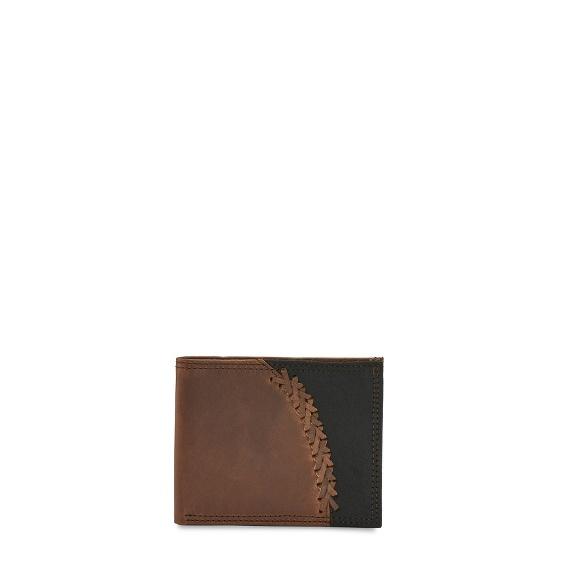 Justin Boots 1920567w4 Justin Mens Bifold Wallet 2 Tone