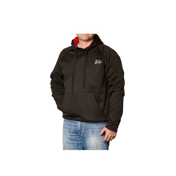 Image for JUSTIN FLEECE HOODIE-BLACK ; Style# 1APP300