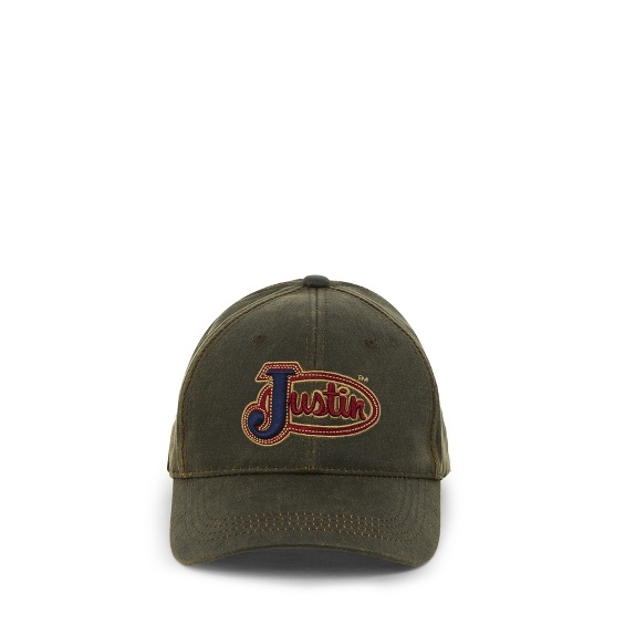 Image for JUSTIN CAP-BROWN ; Style# JCBC004BR