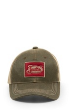 ed16c624d64 Image for JUSTIN CAP-BROWN W MESH BACK   Style  JCBC005BR