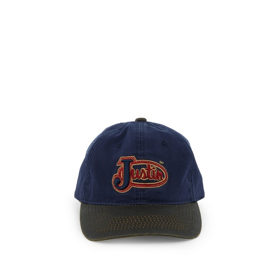 Image for JUSTIN CAP-NAVY ; Style# JCBC017N