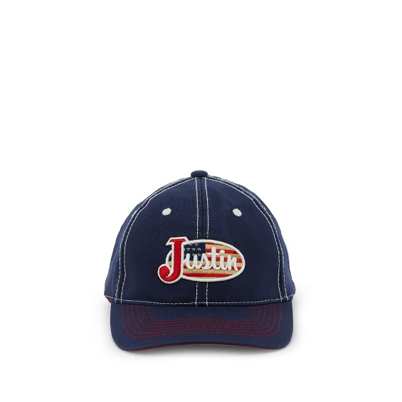 Image for JUSTIN CAP-NAVY ; Style# JCBC401N