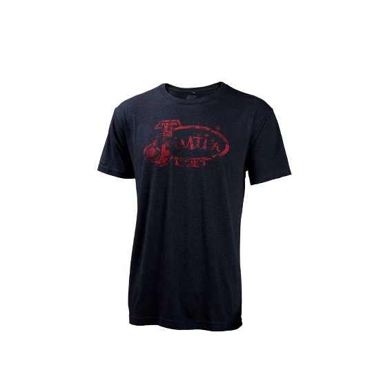 Image for JUSTIN MENS BURN OUT LOGO-VINTAGE BLACK ; Style# P73316
