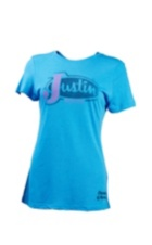 Image for JUSTIN LADIES FADE OUT-TURQUOISE ; Style# P73593