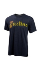 Image for JUSTIN MENS GENUINE LOGO-VINTAGE BLACK ; Style# P73888