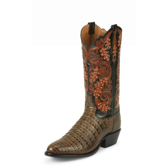 Image for PECAN BELLY ANTQ CAIMAN boot; Style# 1000