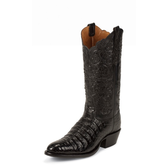 Image for BLACK BELLY ANTIQUE CAIMAN boot; Style# 1001