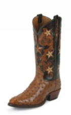Image for BRANDY COWBOY CLASSIC OSTRICH boot; Style# 1003