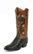 Image for BLACK COWBOY CLASSIC OSTRICH boot; Style# 1004