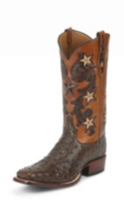 Image for TOBACCO COWBOY CLASSIC OSTRICH boot; Style# 1005