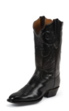 Image for BLACK BRUSHED GOAT boot; Style# 1044