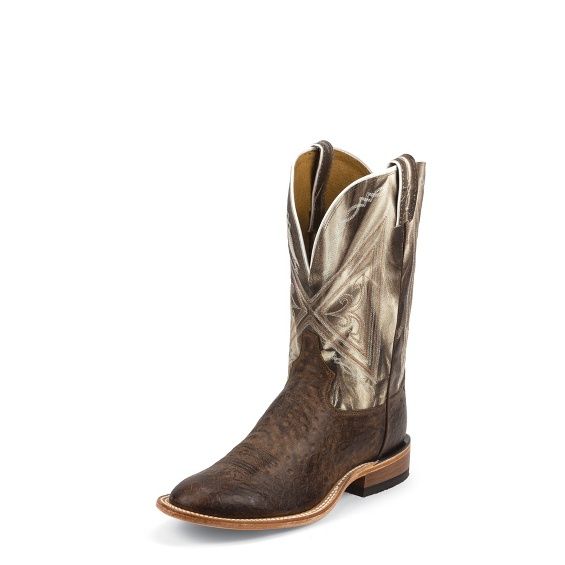 Image for CHOCOLATE REVERSE QUILL boot; Style# 7960