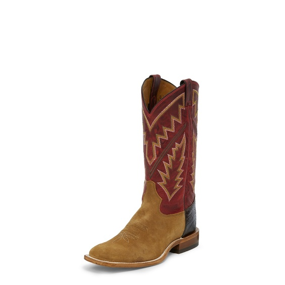 Image for BINGHAM TAN SUEDE boot; Style# 7966