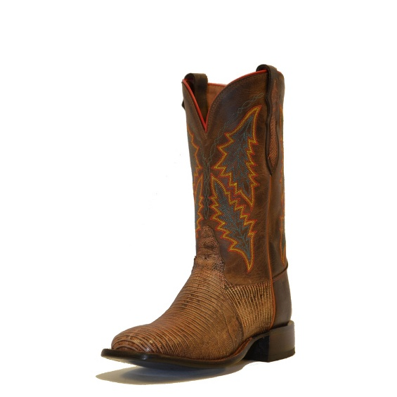 Image for MAHOGANY TRI-TONE LIZARD boot; Style# H2324L
